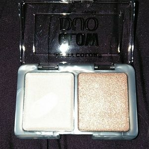 City Color Glow Duo Highlighter Cream Powder New